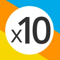 tabla del 10