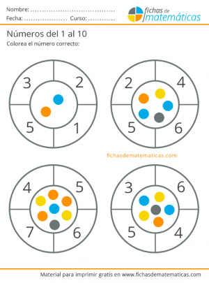 ejercicios para aprender a contar
