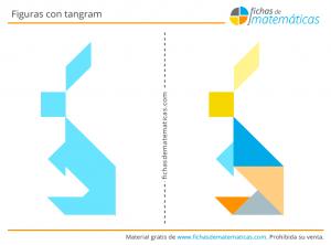 animales con tangram