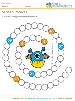ejercicios de series numéricas