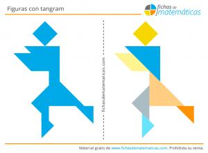 figuras hechas con tangram