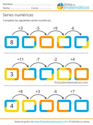 series matemáticas