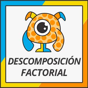 descomposición factorial