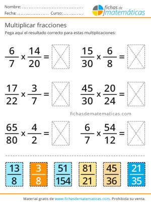 ejercicios de fracciones con solución