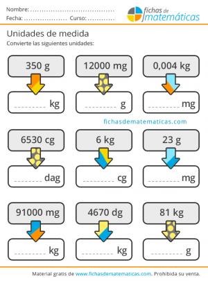 ejercicios con gramos