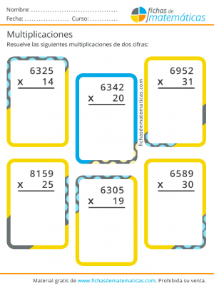 multiplicar por dos cifras facil