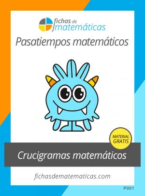 crucigramas matemáticos pdf
