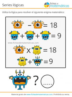 pasatiempos matemáticos de lógica
