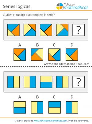secuencias visuales lógica