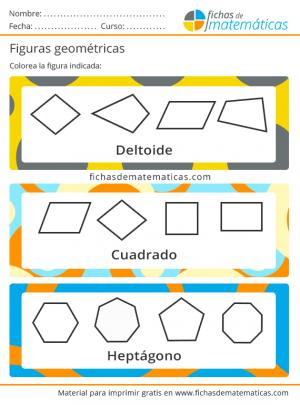 ejercicio con nombres de figuras geometricas