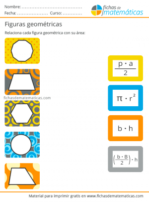 figuras geométricas áreas
