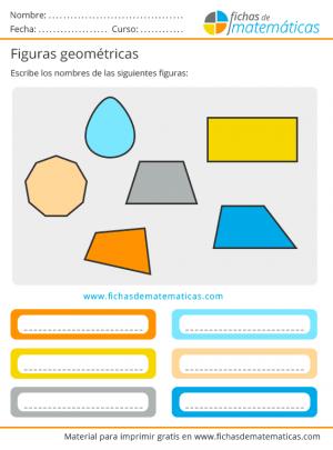 nombres de formas geometricas para imprimir