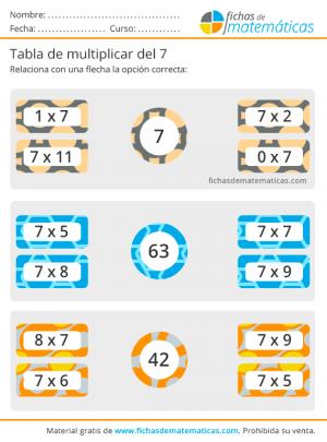 tabla x7